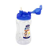 乐扣乐扣杯吸管水杯 350ml 儿童塑料水杯HPP708T