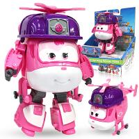 奥迪双钻超级飞侠玩具大号变形机器人全套装小飞侠玩具 海外版小爱大变形机器人