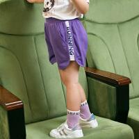 小猪班纳童装女童短裤儿童裤子宝宝2020新款夏装运动裤小童休闲裤
