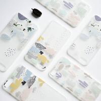 �有脑�创 iPhone7手机壳 原野仙人掌 进口TPU 苹果6/6P 文艺可爱 手机保护套 品牌 正品
