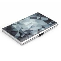 名片夹 男式女式 商务名片盒 名片收纳盒女士创意定制金属名片夹