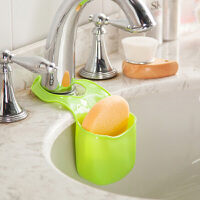 厨卫多功能沥水杂物收纳挂袋--果绿色(JY006-3)2只