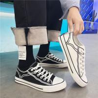 2019春季新款男士帆布鞋透气男鞋港风潮学生鞋时尚休闲鞋6906
