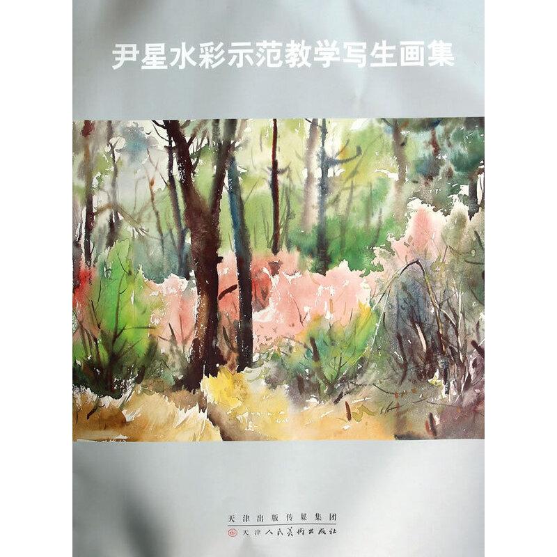 尹星水彩师范教学写生画集