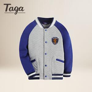 TAGA  春 春秋款童装男童外套中大童学生上衣儿童棒球服