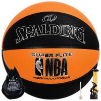 斯伯丁(SPALDING) NBA全明星比赛掌控篮球室内外兼用PU蓝球男女成人7号篮球