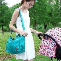 小号时尚多功能斜挎手提妈咪包防水轻便母婴单肩包婴儿宝宝奶粉包