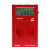 Tecsun/德生 PL-100 袖珍式 数字调谐 立体声 DSP 收音机