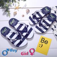 韩版情侣拖鞋人字拖男鞋夏季新款拼色防滑防水夹脚软底凉拖鞋