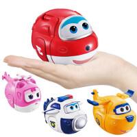 奥迪双钻儿童玩具超级飞侠男孩乐迪套装变形趣变蛋机器人小爱全套