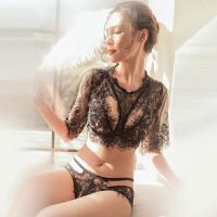 情趣内衣小胸开档露乳紧身连体制服性感激情用品套装女透视装