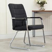 办公椅家用电脑椅弓形座椅简约会议室椅麻将休闲网布宿舍学生椅子 钢制脚