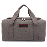 帆布旅行包 手提包男士行李包旅行袋手提行李袋单肩包超大容量 大