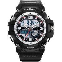 手表男生电子表男款高中生初中学生潮流大表盘防水运动手表