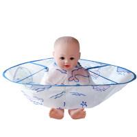 儿童理发围巾 儿童理发围布发廊专用斗篷婴儿不沾宝宝小孩剃剪头发神器家用围裙