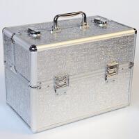 化妆箱手提多层跟妆便捷韩国大号美容美甲纹绣工具箱