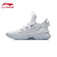 李宁休闲鞋男鞋2020新款时尚经典男士中帮运动鞋AGLQ073