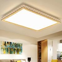 LED吸顶灯简约现代客厅灯长方形卧室灯大气房间灯饰阳台餐厅灯具