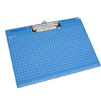 齐心A725 便携式 书写板夹 A4文件夹 横式文件夹 文件夹板