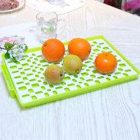 家英 欧式双层餐具滤水架 水果托盘