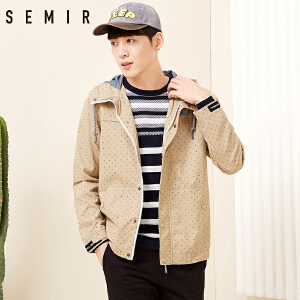 森马夹克男春季男士飞行员棒球服外套韩版休闲学生衣服潮流男装