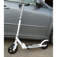 滑板车 二轮 铝合金大童代步二轮耐磨PU大轮滑板车可折叠超静音 CX