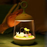生日礼物 定制礼品创意居家微景观植物灯床头灯送女友老婆送老师闺蜜朋友礼物