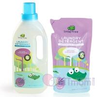 英国小树苗 婴儿薰衣草温和洗衣液 1050ml +补充装500ml