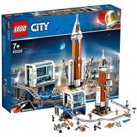 【当当自营】LEGO乐高 城市组系列 60228 深空火箭发射控制中心