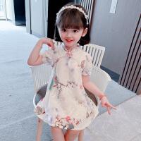 女童旗袍夏装连衣裙儿童夏季中国风汉服宝宝公主裙子