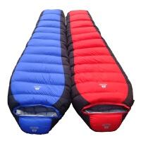 加厚羽绒睡袋户外露营睡袋-30℃鸭绒送枕头新品