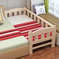 木床公主床小床婴儿床单人床带护栏拼接加宽床大床 其他 不带