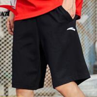安踏运动短裤春季轻薄针织透气短裤健身跑步休闲五分裤95027786