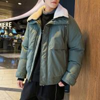 已质检 男士冬季工装棉衣潮流棉袄加厚外套