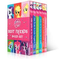 我的小马朋友 My Little Pony: Best Friends 小马宝莉的好朋友6本盒装 我的小马驹/ 彩虹小马 英文原版故事书 桥梁书 小说