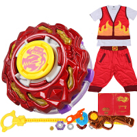 奥迪双钻 陀螺玩具战斗王飓风战魂陀螺2 叶枫刃炎战斗套装614803