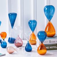 创意时间沙漏计时器摆设北欧家居个性客厅酒柜摆件样板间软装饰品