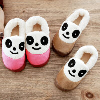 儿童棉拖鞋室内男女童保暖防滑可爱小孩包跟居家加绒宝宝棉鞋