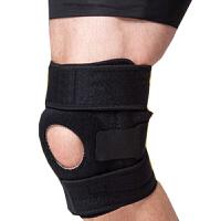 4弹簧OK布带防滑登山支撑运动护膝 户外运动护膝