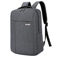 男士双肩背包女14笔记本15.6寸商务休闲大学生韩版时尚书包电脑包