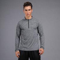 运动上衣男女情侣速干衣长袖高弹宽松健身衣篮球跑步训练卫衣