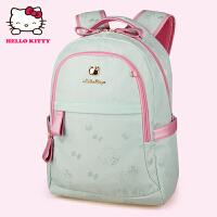 HelloKitty凯蒂猫 KT1136浅绿 儿童书包 小学生书包 女童韩版3-6年级减负护脊书包
