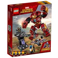 【当当自营】乐高(LEGO)积木 超级英雄系列 漫威复仇者联盟 玩具礼物7-14岁+ 反浩克装甲 76104