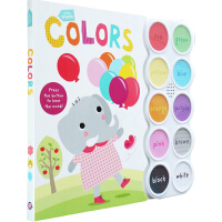 Colors 颜色 英文原版 Little Friends Sound Book 罗杰普利迪小朋友系列 发声书纸板书