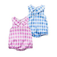 婴儿连体衣服宝宝新生儿季0岁6个月三角长袖内衣哈衣春款