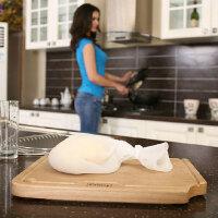 普�� �瓷 硅�z和面袋 揉面袋 做果汁菜泥 腌肉保�r和面袋揉面袋