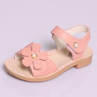 女童鞋子公主鞋凉鞋中大童时尚小女孩夏季儿童软底