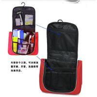 普润 韩国包中包 双拉链收纳包 包中包收纳整理袋 创意化妆包 大号洗漱包 黑色 JD4406