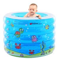 盈泰(intime) 婴儿游泳池五环印花泳池 圆形充气浴盆洗澡桶