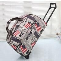 旅行包拉杆包女士行李袋大容量短途旅游折叠箱包手提休闲可爱韩版